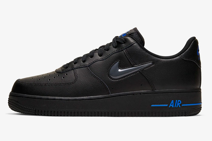 Nike Air Force 1 Jewel Zwart